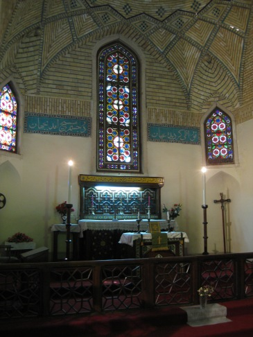 Anglican Church Shiraz, St. Simon, interior (c) MvdB