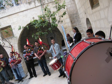 @MvdB; Passion week in St Mark's, Jerusalem